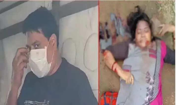 Satna Murdar News : चरित्र संदेह में पत्नी को पीट-पीटकर उतारा मौत  के घाट, जानिए 11 साल की मासूम बेटी ने कैसे खोला राज