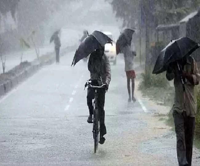 Weather Forecast : दिल्ली, यूपी, हरियाणा व राजस्थान के इन क्षेत्रों में अगले 2 घंटे के दौरान होगी बारिश, जानें अन्य राज्यों का हाल